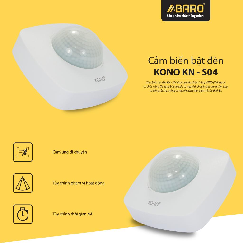 Cảm biến bật đèn KONO KN-S04
